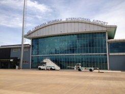 Livingstone Airport near Victoria Falls - Zambia, Zimbabwe