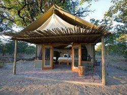 Little Makalolo tent in Hwange National Park