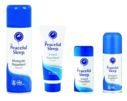 Peaceful Sleep insect repellent - great for holidays to Victoria Falls and the surrounding region