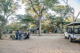 Mobile camping safari inside Chobe National Park, Botswana