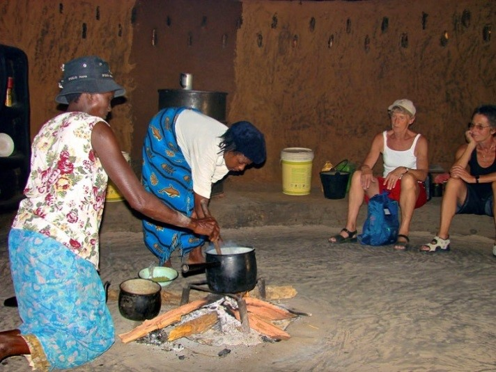 Bomani Lodge Village visit in Hwange - Zimbabwe