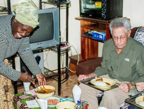 Join a local Zimbabwean family for a traditional home hosted lunch or dinner in Victoria Falls - Zimbabwe