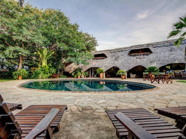 Bayete Guest Lodge in Victoria Falls town, Zimbabwe