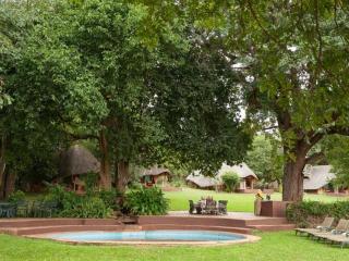 Imbabala Lodge by the Zambezi River near Victoria Falls, Zimbabwe. Great bargain with flights and a 3 night stay.