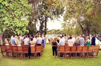Beautiful outdoor wedding in Victoria Falls