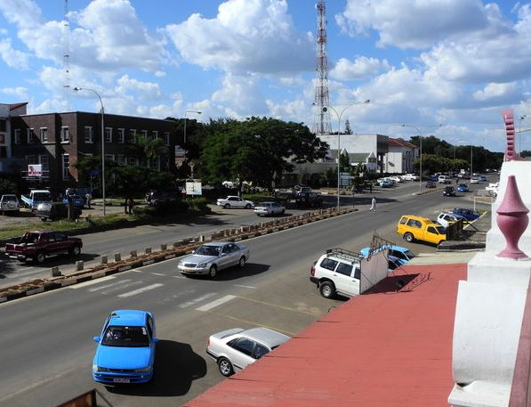 View of the Livingstone streets in modern days