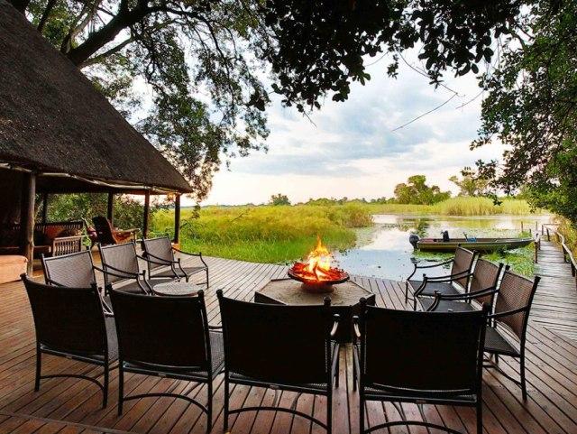 Nxamaseri Lodge in the Panhandle region of the Okavango Delta