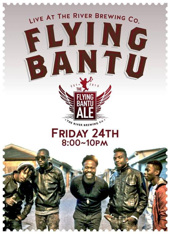 Flying Bantu back in Victoria Falls, Zimbabwe from their Canada tour