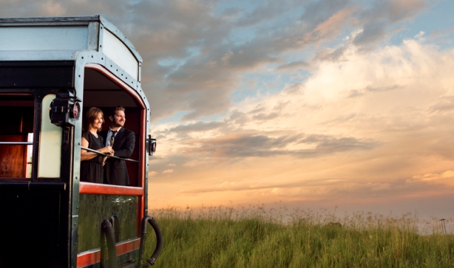Rovos Rail - The Pride of Africa - train to Victoria Falls, Zimbabwe