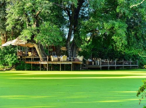Front view of Kanga Camp - Mana Pools, Zimbabwe