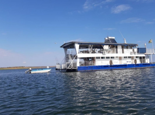 OB Joyful Houseboat, Lake Kariba, Zimbabwe