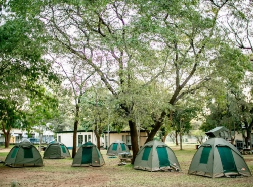 Victoria Falls Rest Camp - camping Victoria Falls accommodation