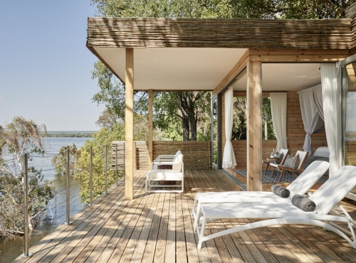 Victoria Falls Island lodge  - opulent Victoria Falls accommodation