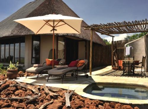 Front view of a room at Ngoma Safari Lodge - Chobe, Botswana