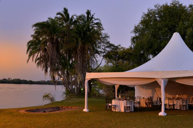 Zambezi Explorer wedding venue in Victoria Falls