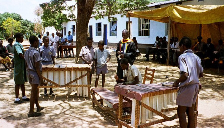 Zimbabwean schools have made marimba bands and clubs a popular extra curricular activity