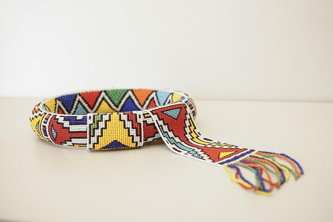 Ndebele neck beads