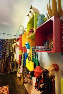 Bags, chitenge/African print stuff in Victoria Falls