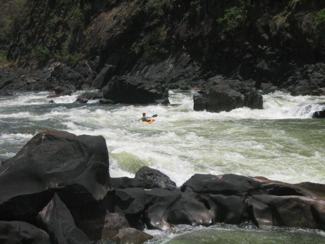 kayaking zambezi river