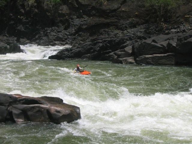 kayaking victoria falls