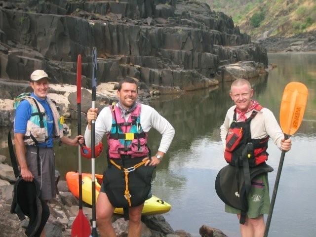 Kayaking zambezi