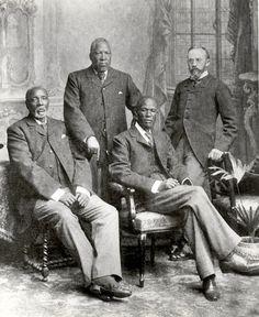 The Batswana leaders in London