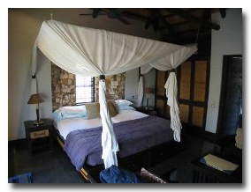 Matetsi Water Lodge Bedroom