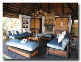 Matetsi Water Lodge Lounge