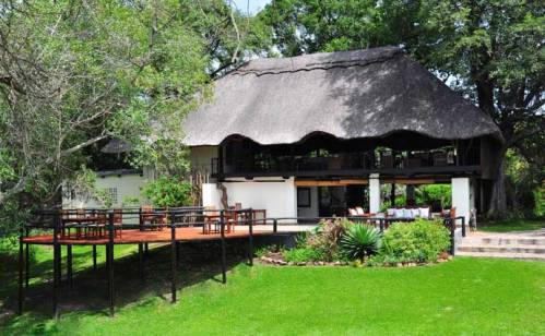 View of the deck at Waterberry Lodge - Victoria Falls, Livingstone, Zambia