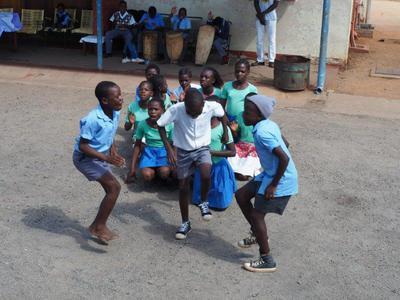 School and village tour