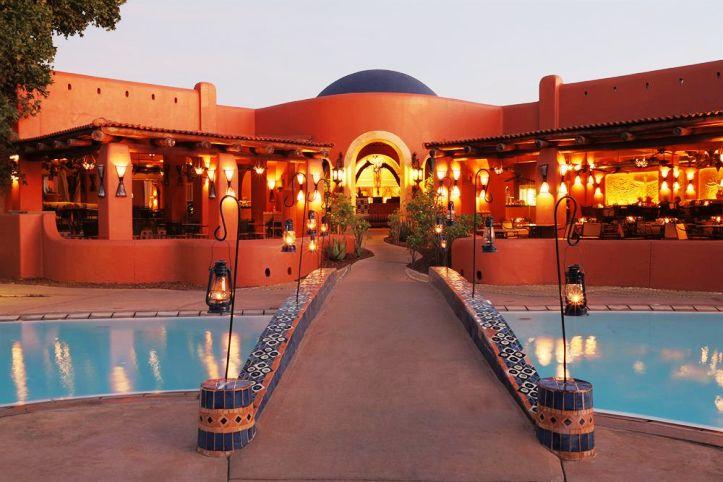 The large restaurant at Avani Resort