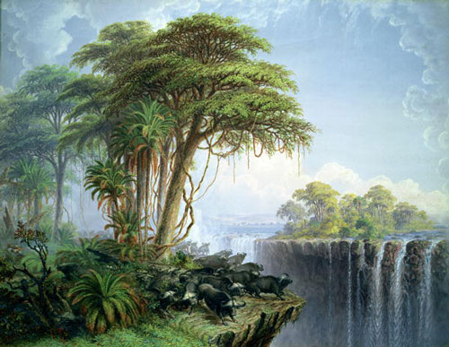 Thomas Baines Victoria Falls print