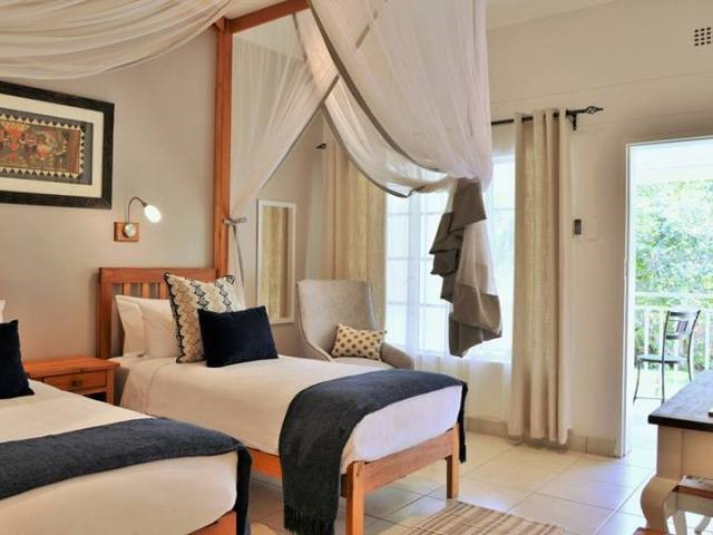 Twin room at Batonka Guest Lodge, Victoria Falls, Zimbabwe