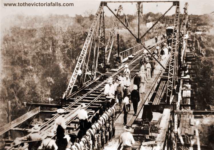 Construction of the Victoria Falls Bridge