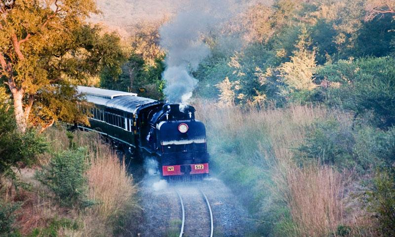Classic steam train trip