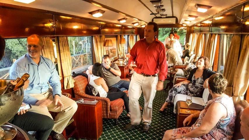Bushtracks Express observation carriage