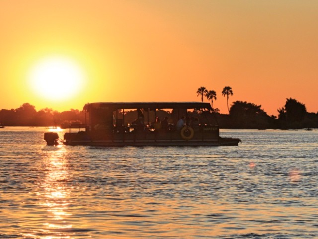 Take in the Zambezi River