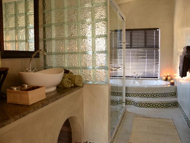 En-suite bathroom in each room