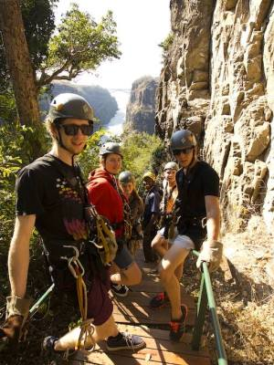 Family adventure in Victoria Falls, including a canopy tour - at a special discount!