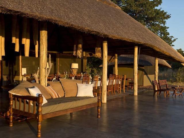 Dining area and veranda