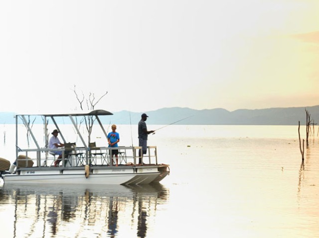 Fishing on Lake Kariba