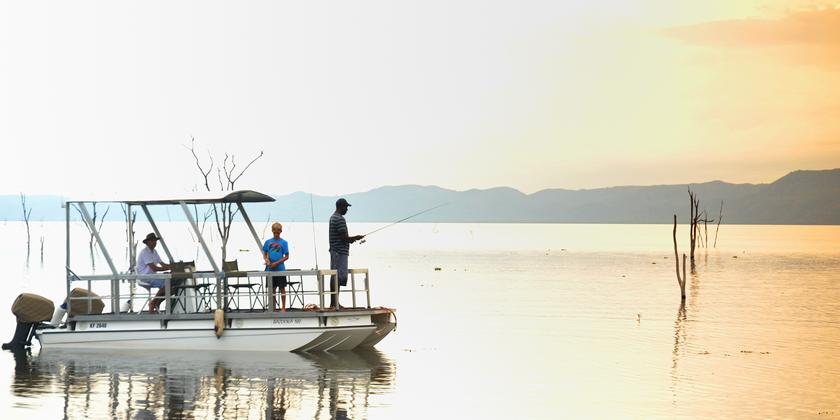 Fishing on Lake Kariba with Changa Safari Camp - Zimbabwe