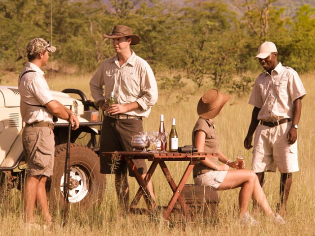 Game drives at Changa Safari Camp - Lake Kariba, Matusadona National Park