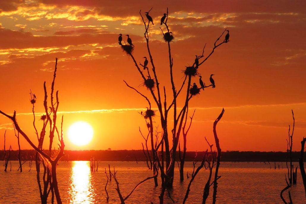Kariba sunset