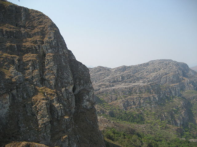 Chimanimani Mountains in Zimbabwe