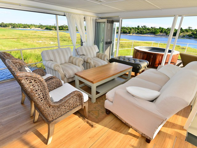 Luxurious Chobe Princess Houseboat