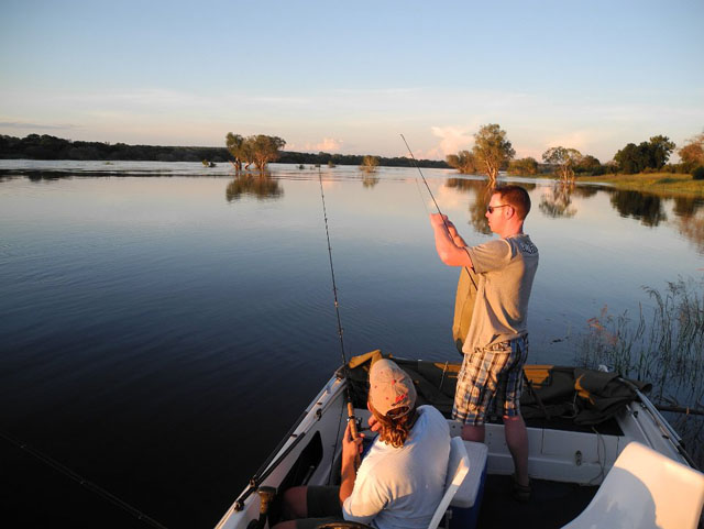 Fishing and game drives