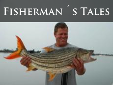 Fishermen's tales of sporting on the Zambezi River, Victoria Falls