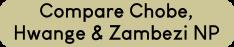Compare Chobe, Hwange Zambezi National parks - close to Victoria Falls, Zimbabwe