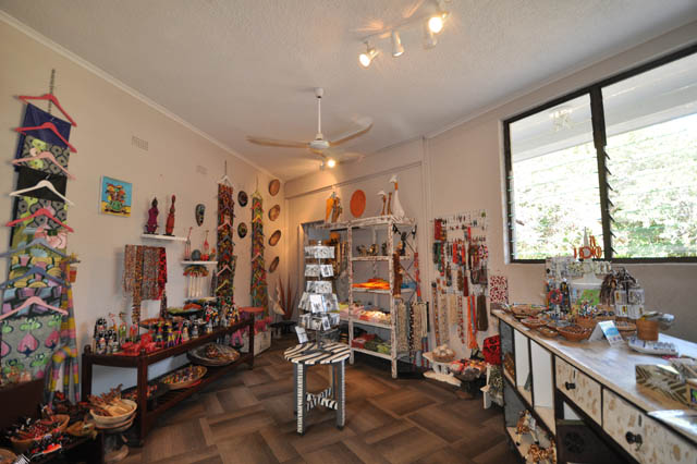 Gift shop in main area